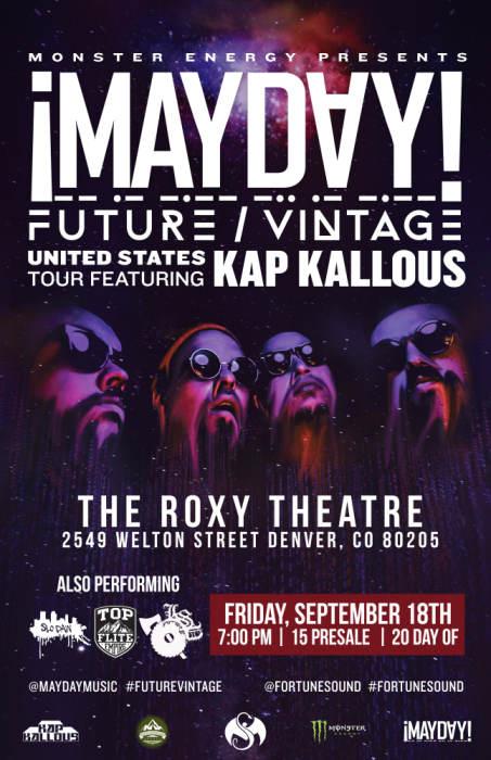 Mayday Future Vintage Tour