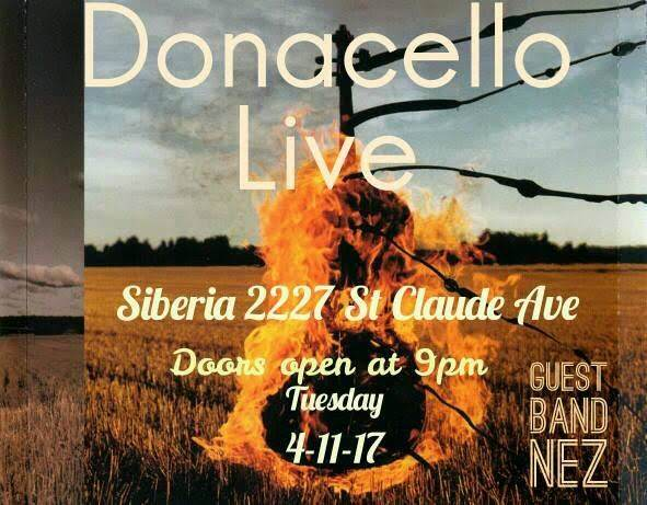 An Evening with Donacello and Nez