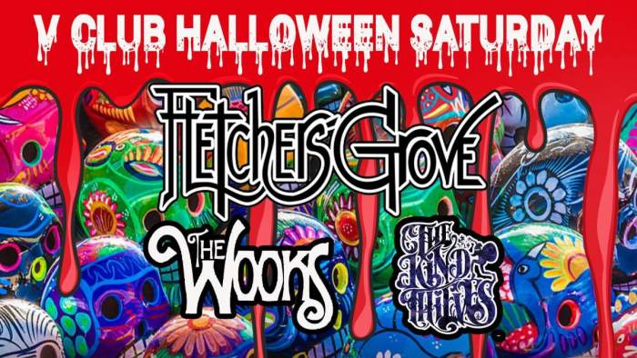 Fletchers Grove / The Wooks / The Kind Thieves