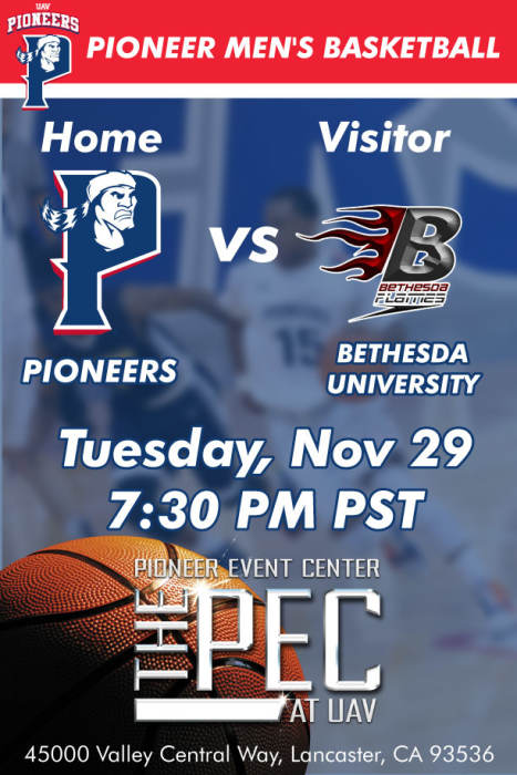 UNIVERSITY OF ANTELOPE VALLEY vs BETHESDA UNIVERSITY