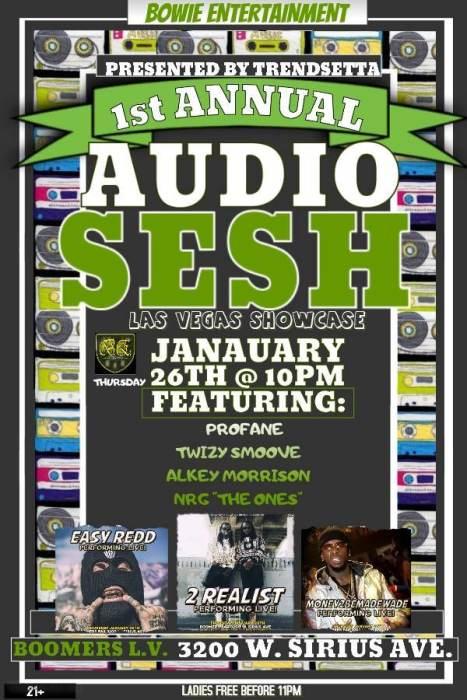 1st Annual Audo Sesh