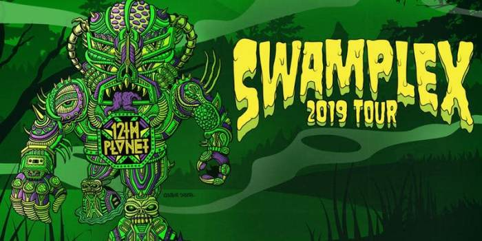 12th Planet: Swamplex 2019 Tour feat Gentlemens Club & Shlump