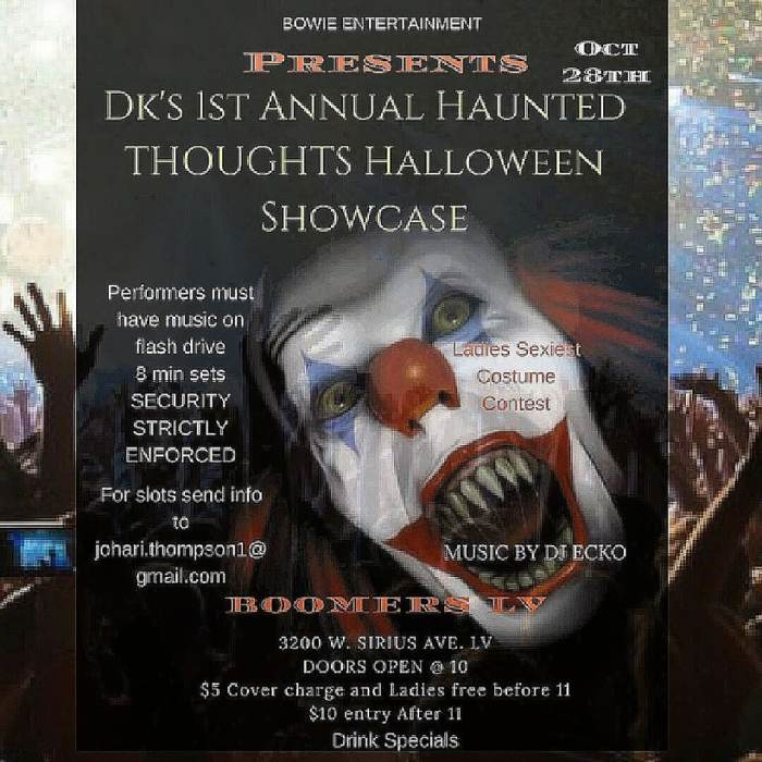 Haunted Thoughts Halloween Showcase