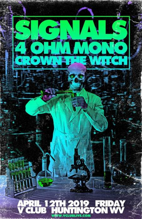 Signals / 4 Ohm Mono / Crown The Witch