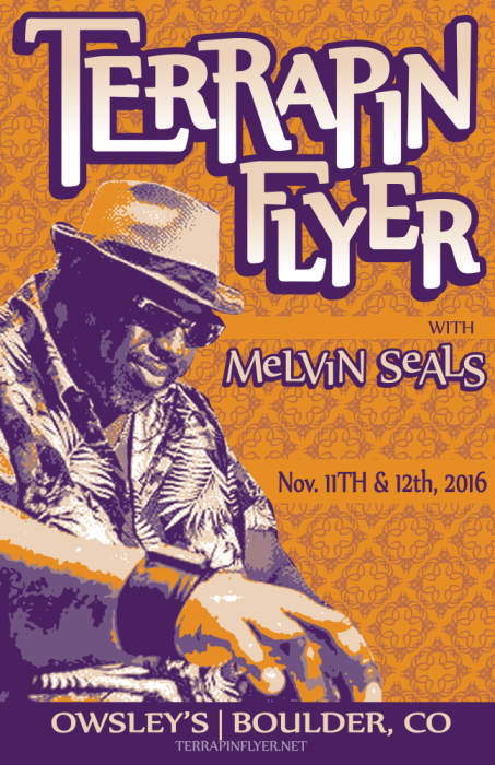 Terrapin Flyer with Melvin Seals