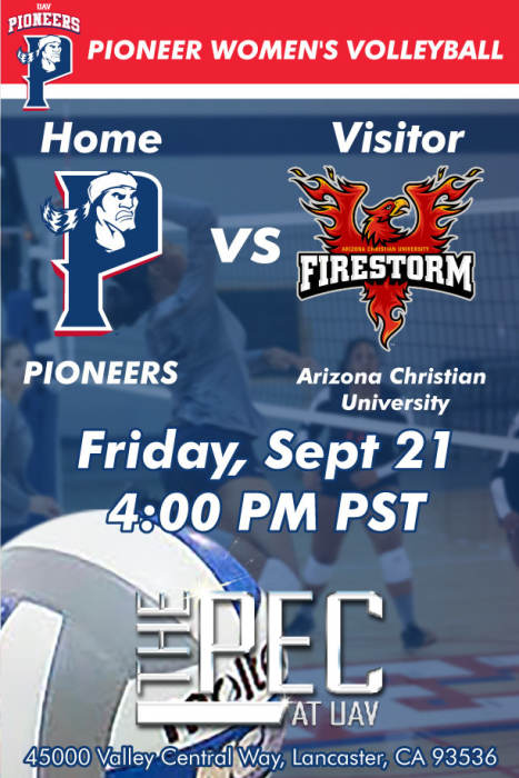 UNIVERSITY OF ANTELOPE VALLEY vs ARIZONA CHRISTIAN UNIVERSITY