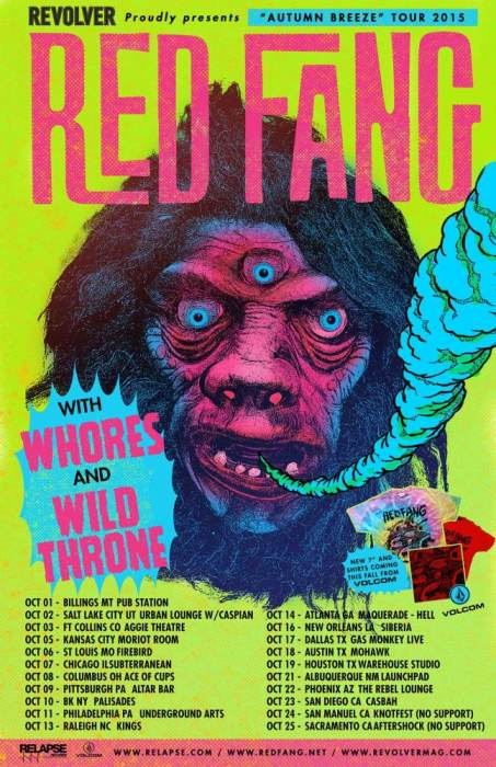 RED FANG | Whores | Wild Throne | Mountain of Wizard