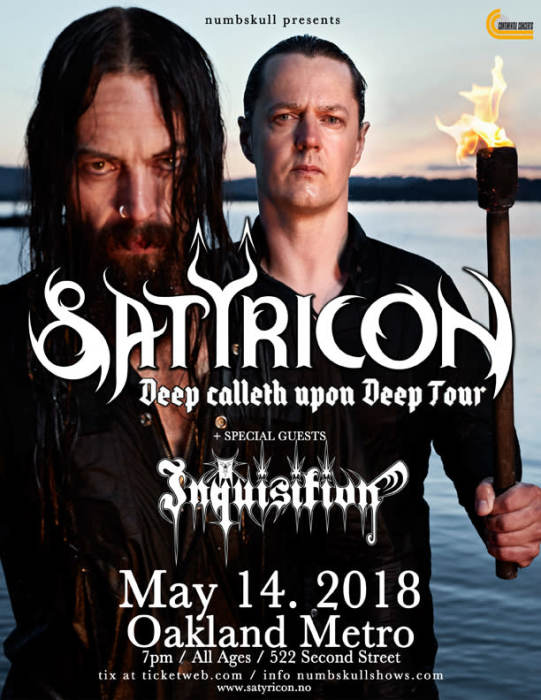 Satyricon, Inquisition