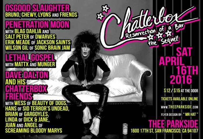 Osgood Slaughter, Penetration Moon, Lethal Gospel, Dave Dalton & His Chatterbox Friends
