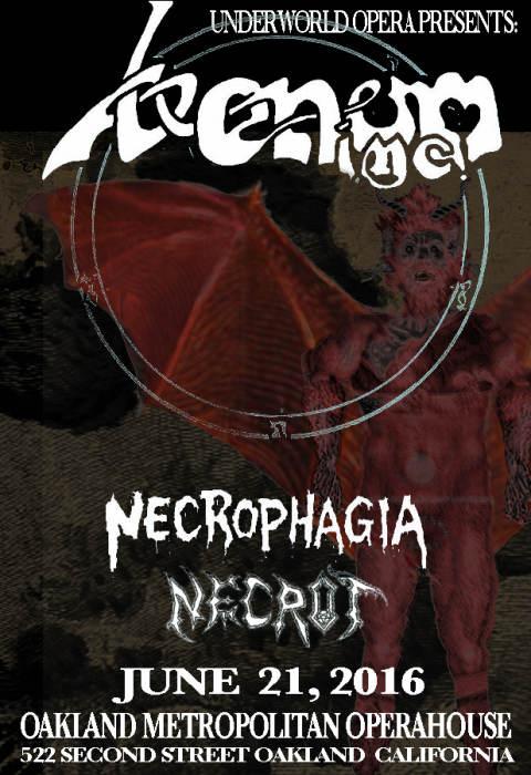 Venom Inc, Necrophagia, Necrot