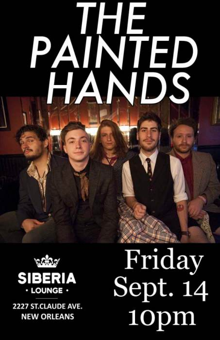 The Painted Hands, tba