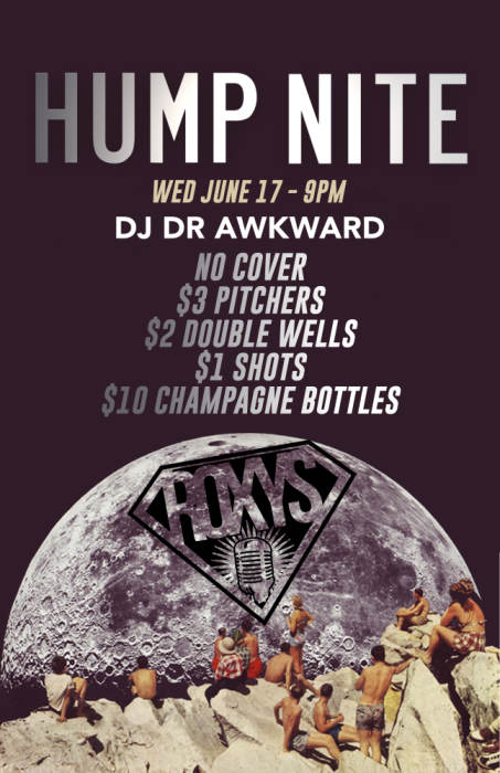 Hump Nite - No Cover