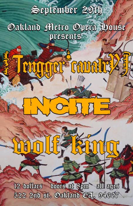 TENNGER CAVALRY / INCITE / WOLF KING