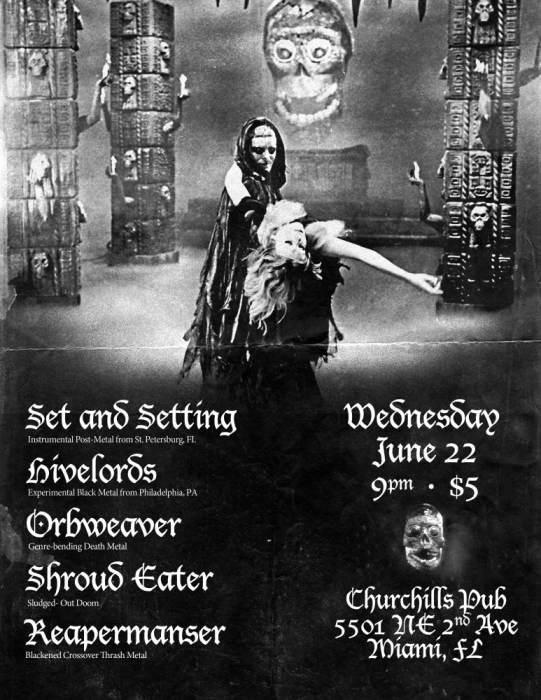 Set & Setting, Hivelords, Shroud Eater, Reapermanser