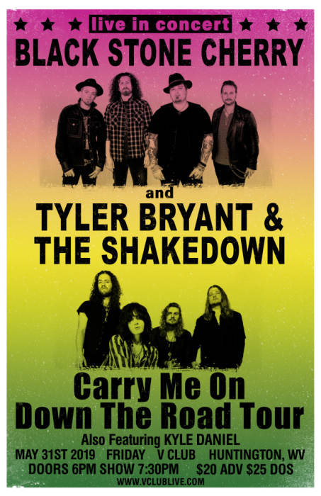 Black Stone Cherry / Tyler Bryant & The Shakedown