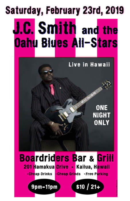 JC Smith and the Oahu Blues All-Stars