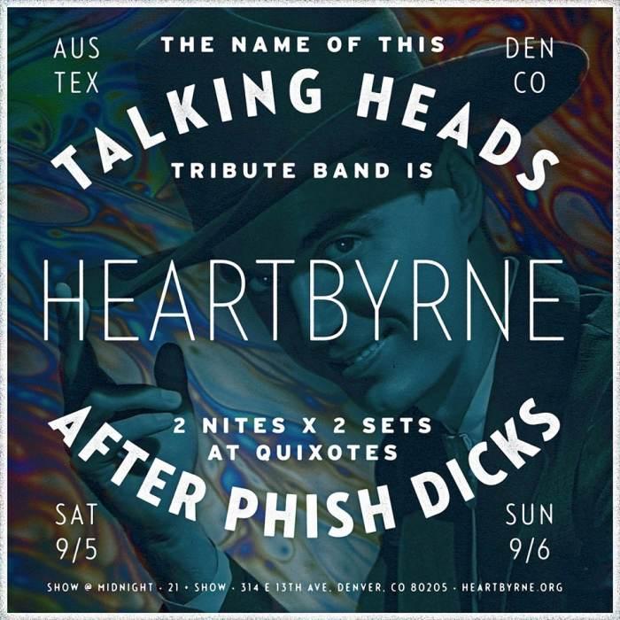 Heartbyrne: Talking heads Tribute
