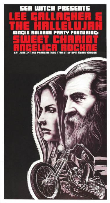 Lee Gallagher & The Hallelujah (Single Release), Sweet Chariot, Angelica Rockne
