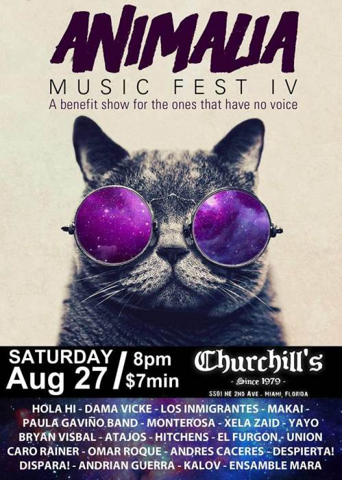 Animalia Music Fest IV - A benefit show for the ones that have no voice - 20 bands on 2 stages