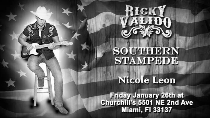 Ricky Valido, Southern Stampede, & Nicole Leon