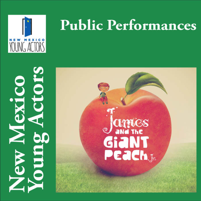 James and the Giant Peach Jr. - Public Performance