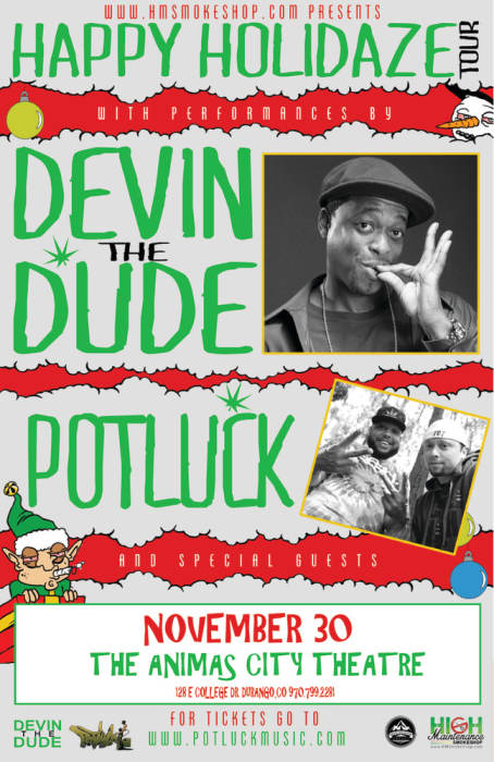 Devin The Dude & Potluck w/ Special Guests