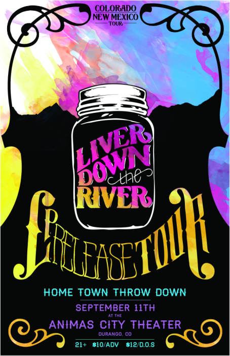 LIVER DOWN THE RIVER (HOMETOWN THROW DOWN EP RELEASE)