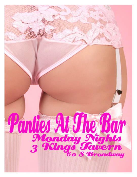 PANTIES AT THE BAR!