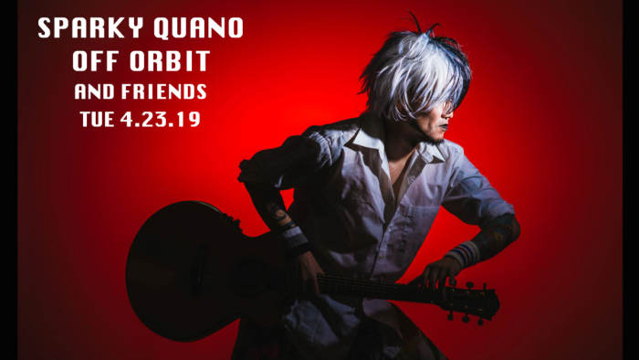 Dollhouse Presents... Sparky Quano, Off Orbit, and friends. 1/2 off Drinks for dolls
