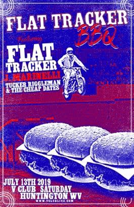 Flat Tracker / J. Marinelli / Tucker Riggleman & The Cheap Dates