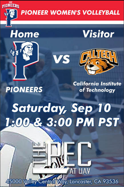 UNIVERSITY OF ANTELOPE VALLEY vs CAL TECH