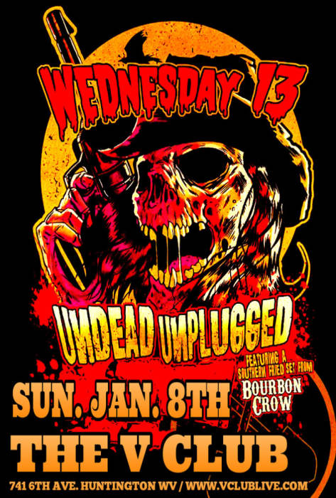 UNDEAD UNPLUGGED TOUR W/ WEDNESDAY 13 / BOURBON CROW