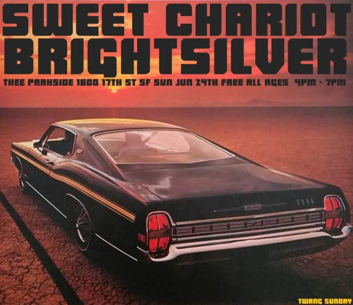 Sweet Chariot, Bright Silver