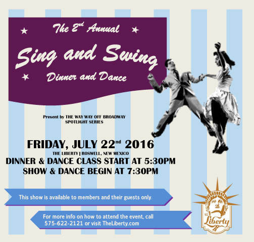 Sing and Swing Dinner and Dance