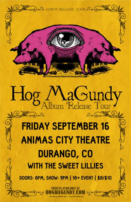 Hog MaGundy Album Release Tour