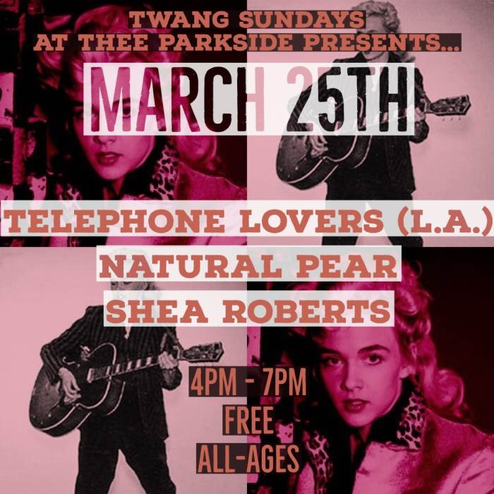Telephone Lovers (LA), Natural Pear, Shea Roberts (Richmond Sluts)