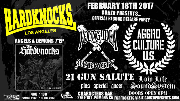 HARDKNOCKS record release party  w/ YOUNG IDEA