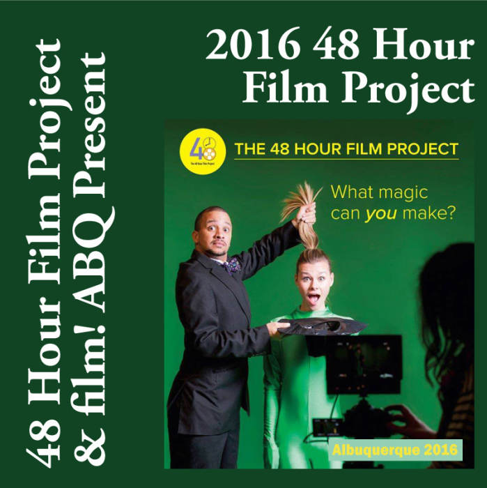 Premiere Screening of 48 Hour Films!        Group A