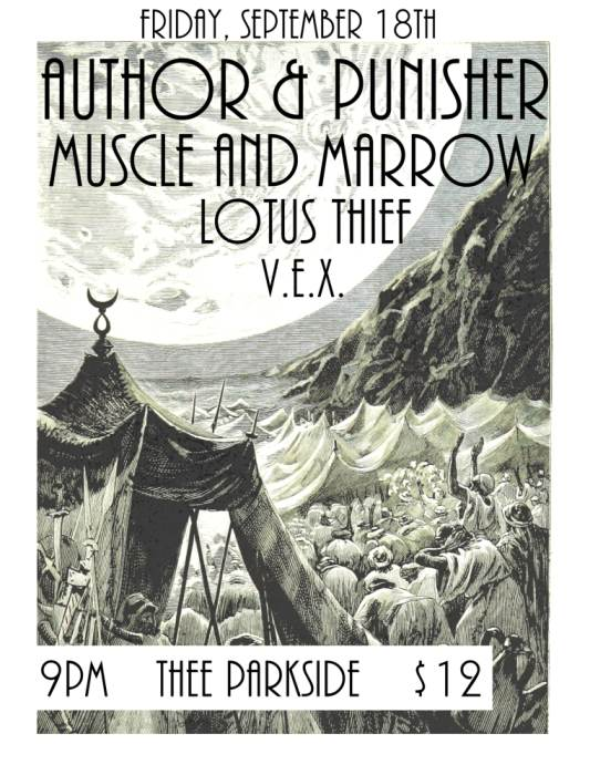 Author & Punisher, Muscle & Marrow, Lotus Thief, V.E.X. (Members of Moira Scar)