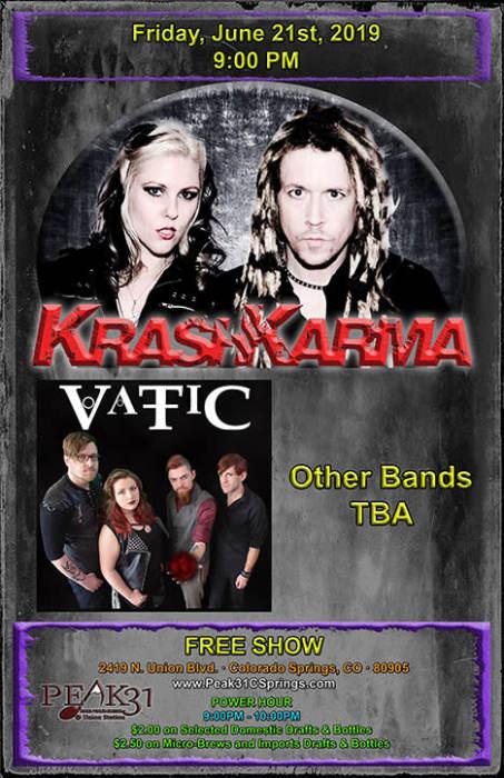 Krash Karma / VaTiC / No Amnesty /
