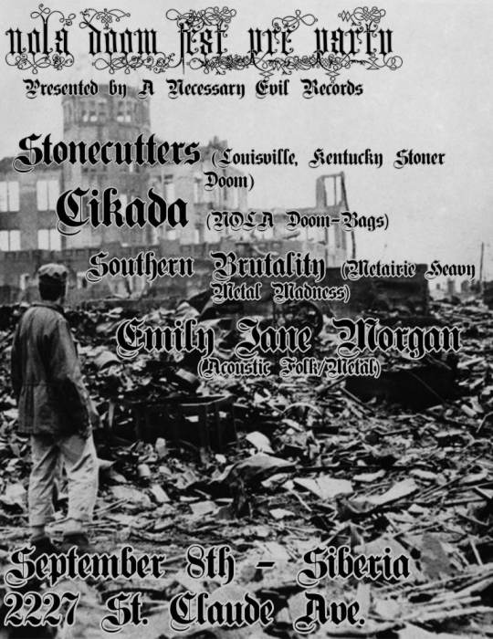 STONECUTTERS | Cikada | Southern Brutality | Emily Jane Morgan
