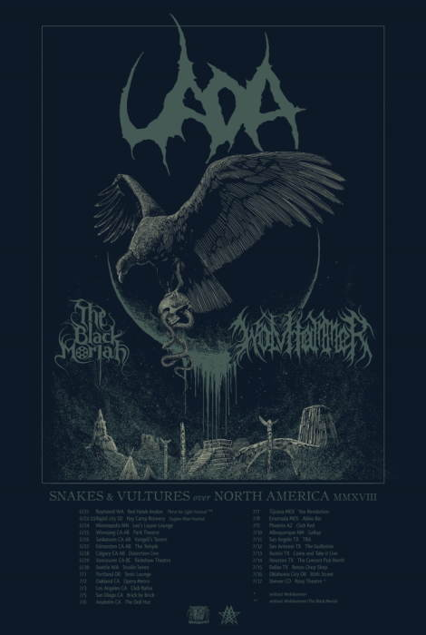 UADA. Wolvhammer. The Black Moriah