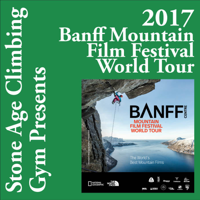 Banff Mtn Film Festival World Tour Day 1 March 8, 2017