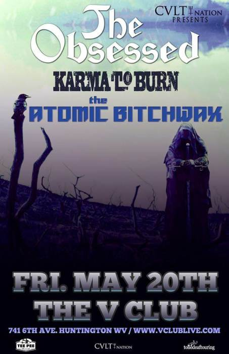 The Obsessed / Karma To Burn / The Atomic Bitchwax