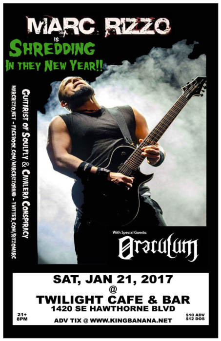 MARC RIZZO (guitarist of Soulfly/Cavalera Conspiracy)
