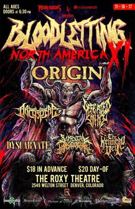 Bloodletting North America 2017
