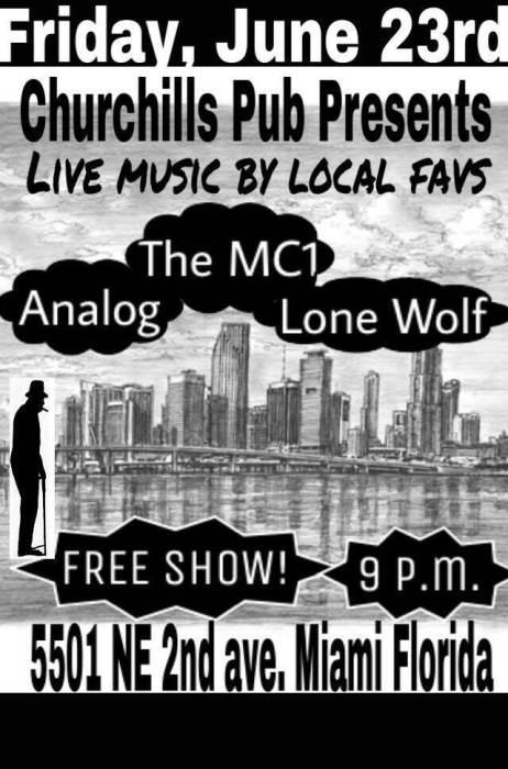 Lone Wolf, MC1, & Analog