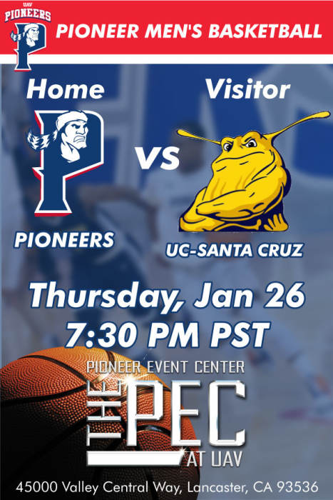 UNIVERSITY OF ANTELOPE VALLEY vs UC- SANTA CRUZ