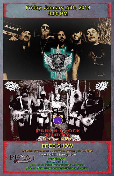 Dirty Kings & PCH