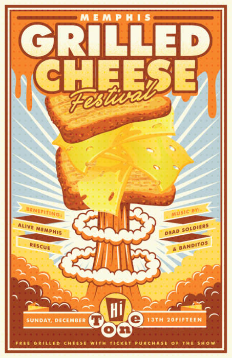 Memphis Grilled Cheese Fest benefiting Alive Rescue Memphis feat. Banditos & Dead Soldiers